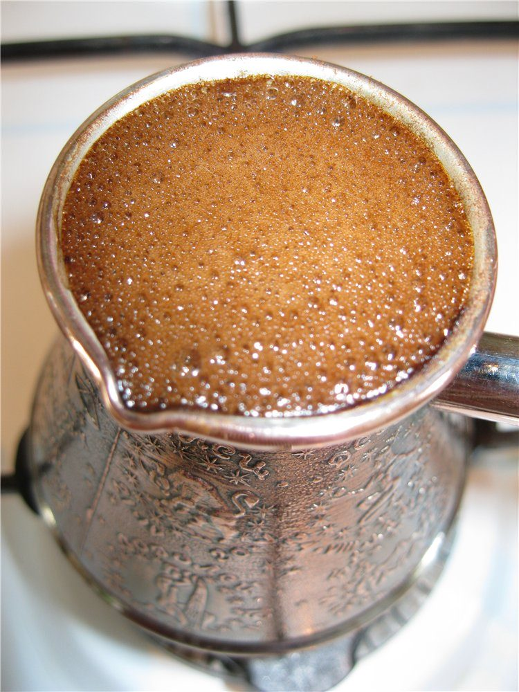 Как сварить кофе в турке с пенкой или приготовить растворимый