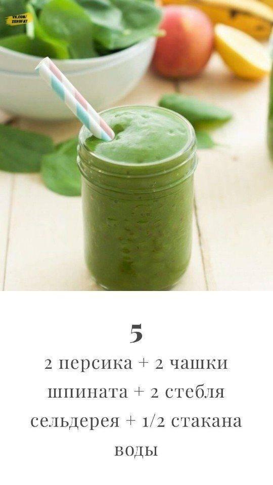 Детокс-смузи: рецепты для похудения иочищения организма