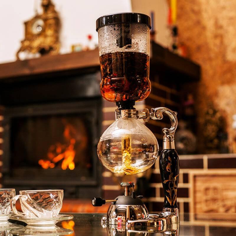 Сифон для чая: особенности чайного и кофейного габета с газовой горелкой. как пользоваться вакуумным сифоном для приготовления кофе?