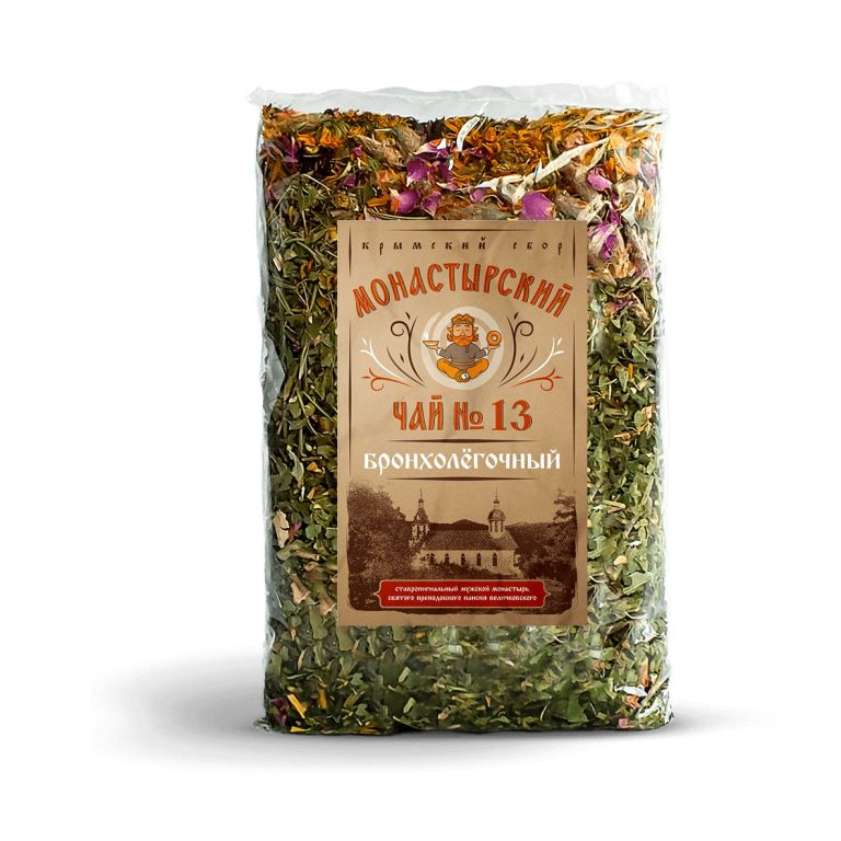 Бодрящий чай из трав горного крыма