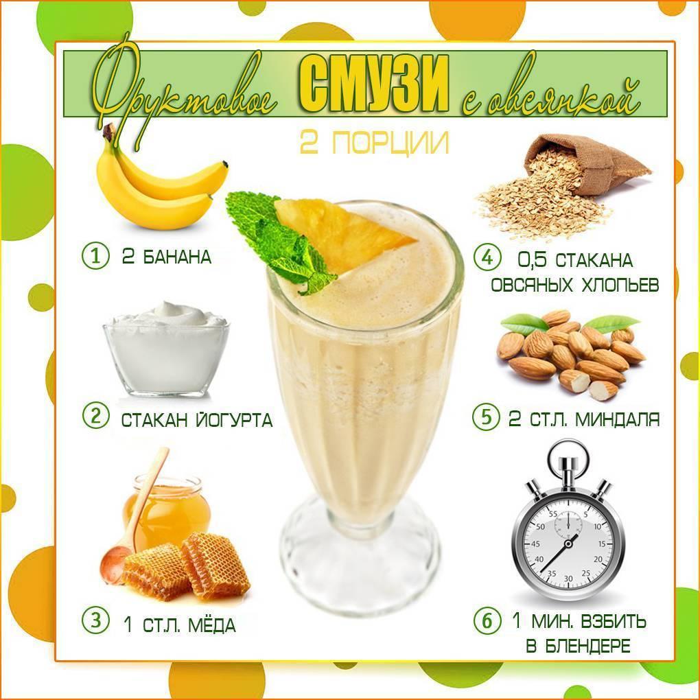 Смузи для похудения. топ-10 простых и вкусных рецептов