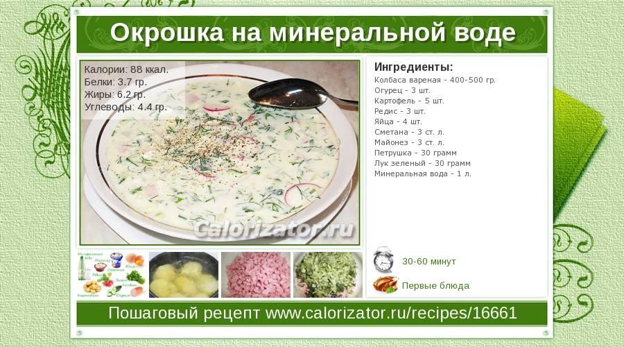 Окрошка на квасе – 9 классических рецептов с колбасой и не только