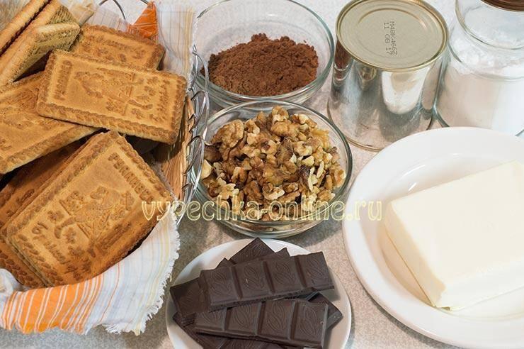 Шоколадная колбаска из печенья со сгущенкой: фото и рецепты, как приготовить шоколадную колбасу