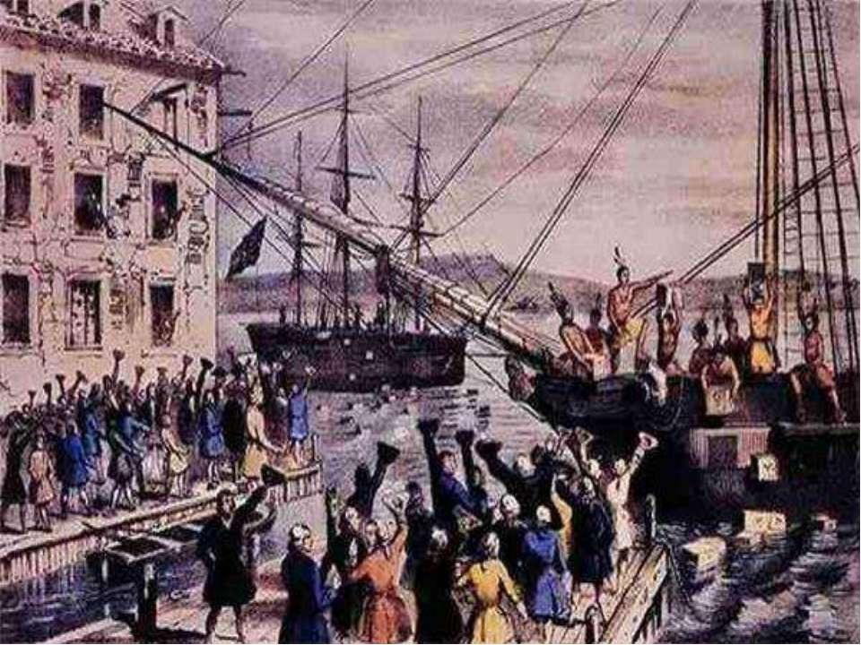 Бостонское чаепитие — википедия. что такое бостонское чаепитие