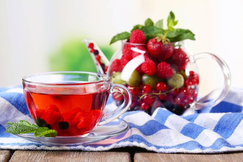 Чай с малиной. витамины. польза и вред. лечебные рецепты   народные знания от кравченко анатолия