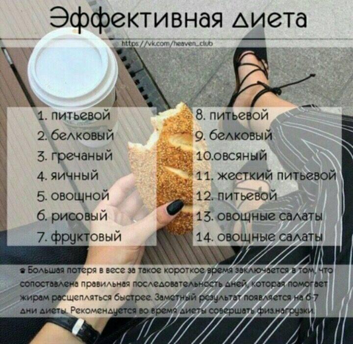 Диета любимая: меню на 5, 7, 10, 12 и 14 дней, разрешенные продукты и противопоказания