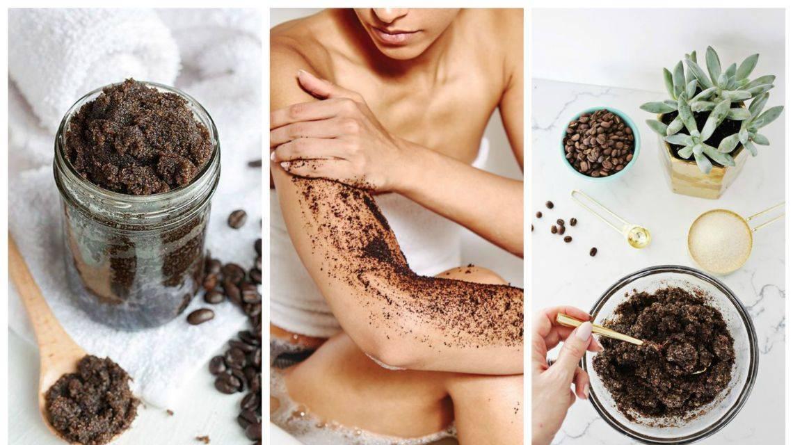 Кофейный скраб для лица - 20 рецептов для любого типа кожи
