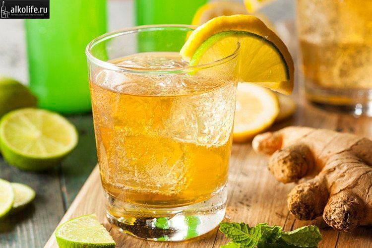 Как сделать имбирный лимонад - пошаговый рецепт