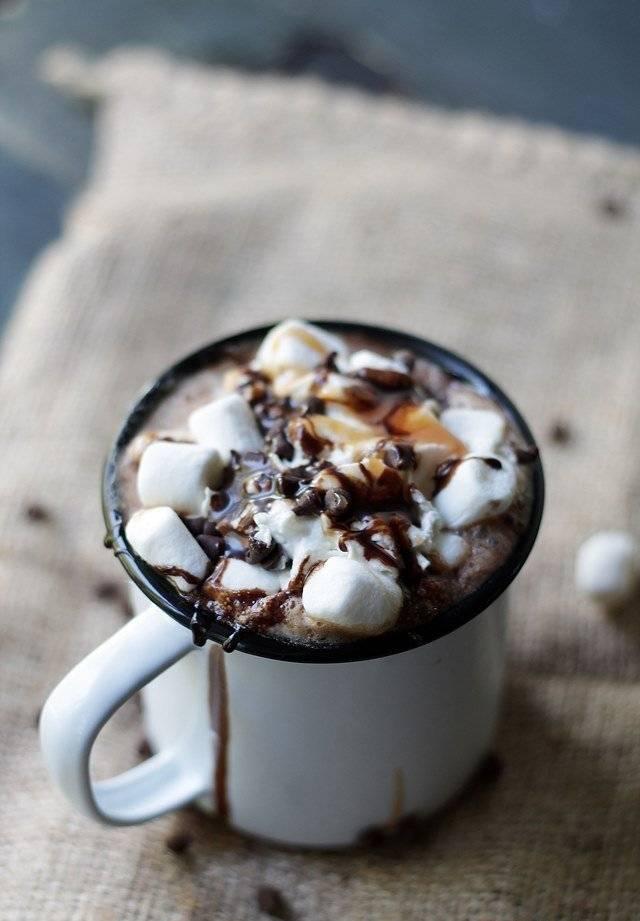 Кофе с маршмеллоу: рецепты для дома