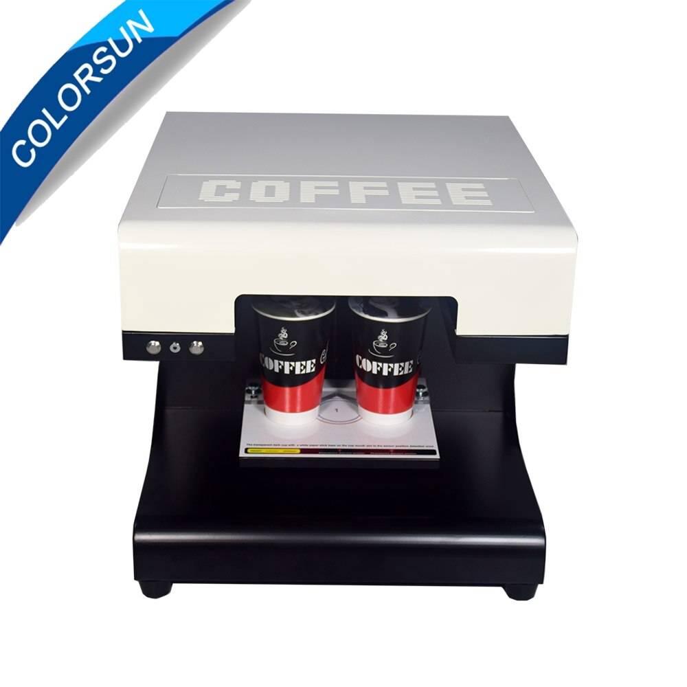 Как выбрать кофе-принтер и какую пользу можно извлечь из этого прибора?