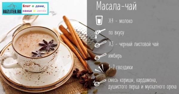 Чай масала: рецепт приготовления
