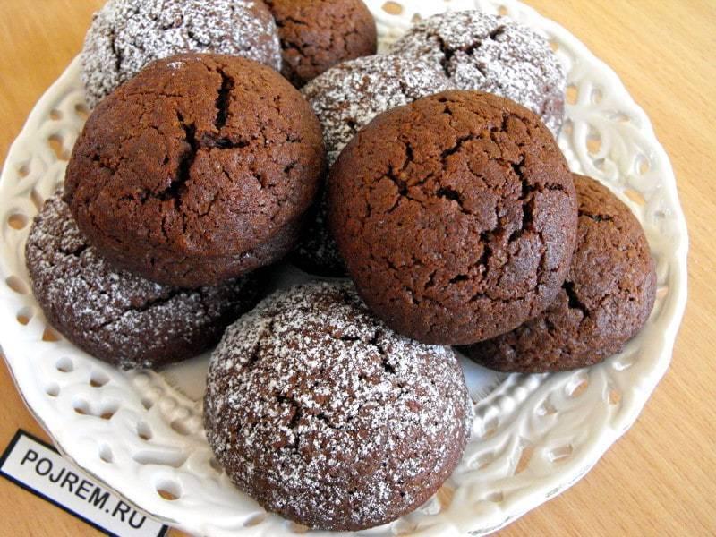 Шоколадное печенье: популярные и быстрые рецепты