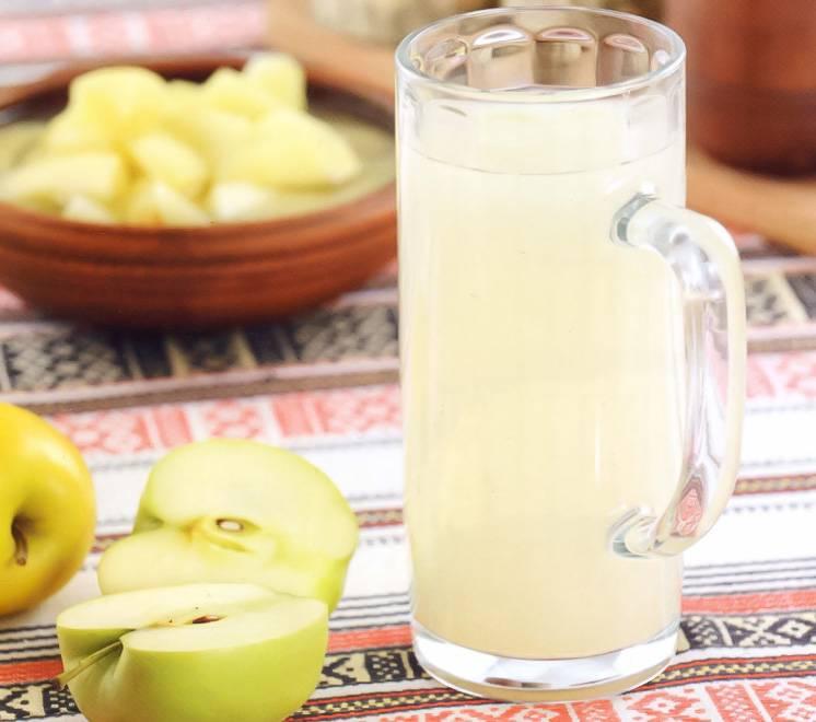 Как приготовить яблочный квас в домашних условиях, рецепты