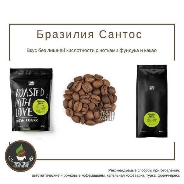 Что такое бразилия сантос? или о том, как читать этикетку бразильского кофе в зернах от эксперта