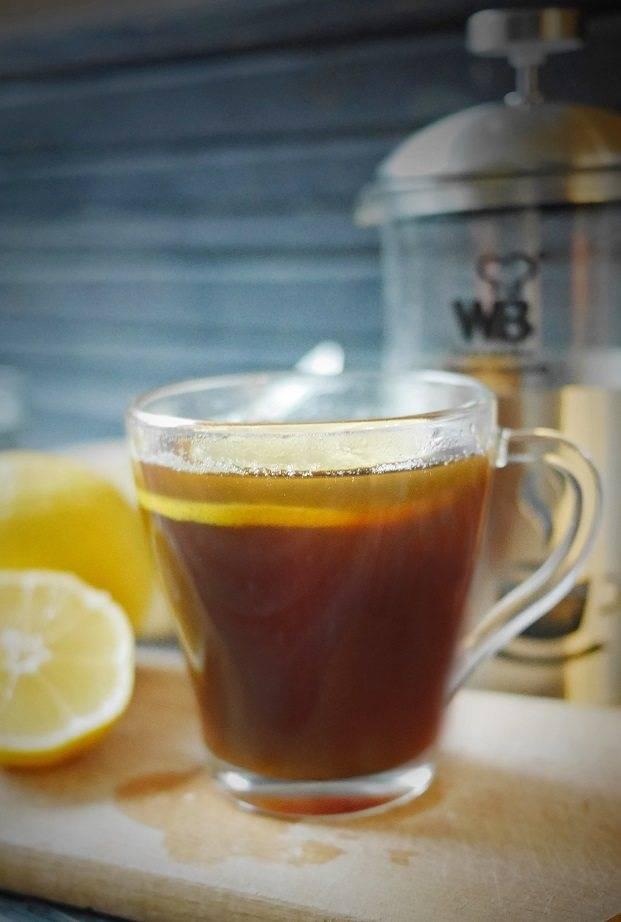Кофе с лимоном — польза и вред, как называется ☕