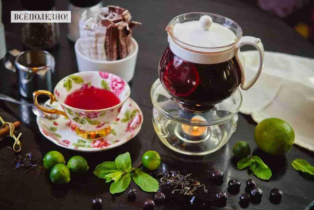 Бергамот в чае польза и вред