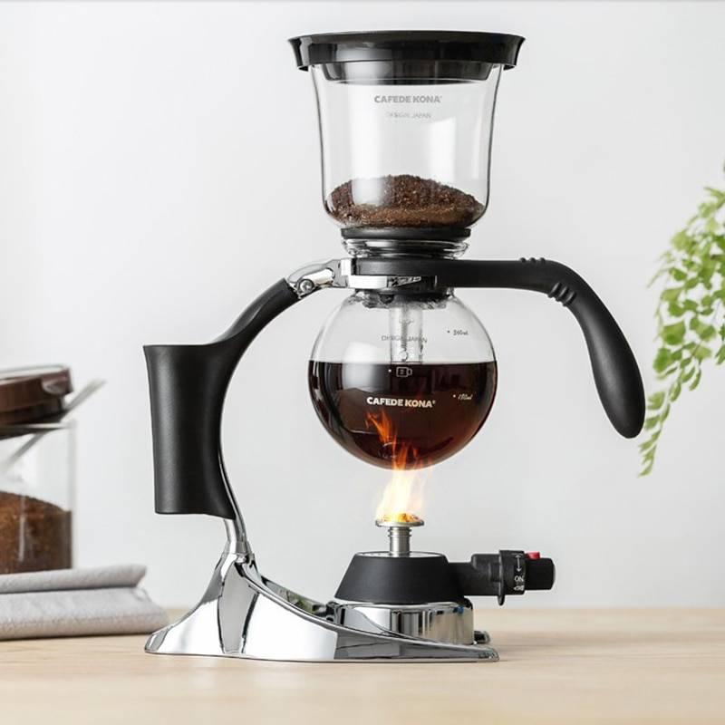 Тонкости работы с кофейным сифоном