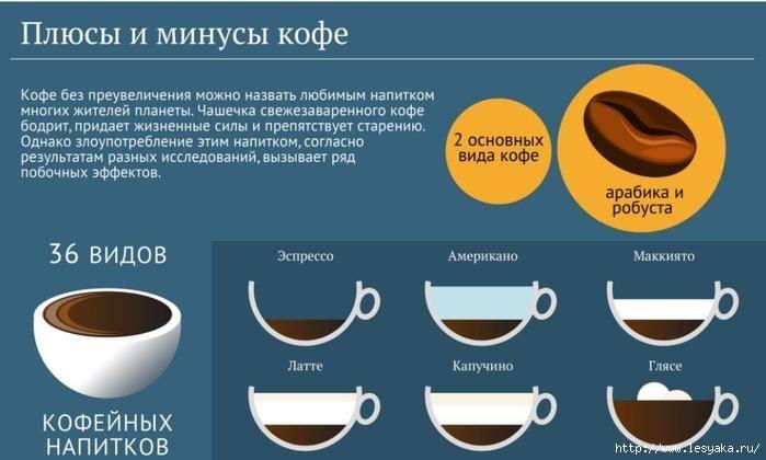 Кофе: как главный напиток современности влияет на здоровье