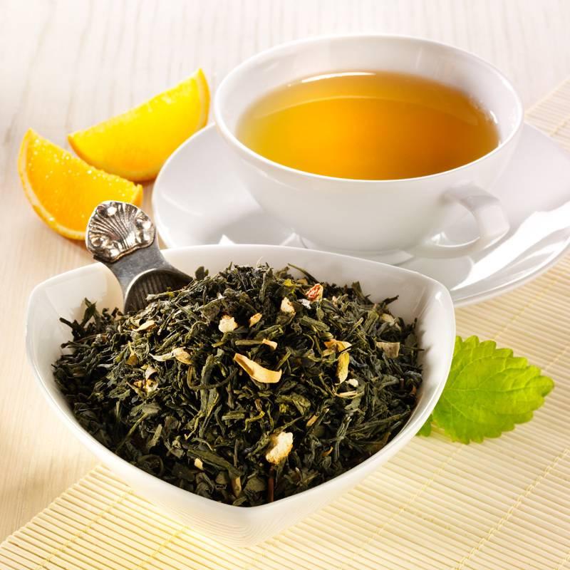 Описание зеленого чая сенча (сентя): полезные свойства, бренды