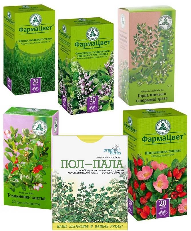 Мочегонные растения, таблетки на травах, продукты