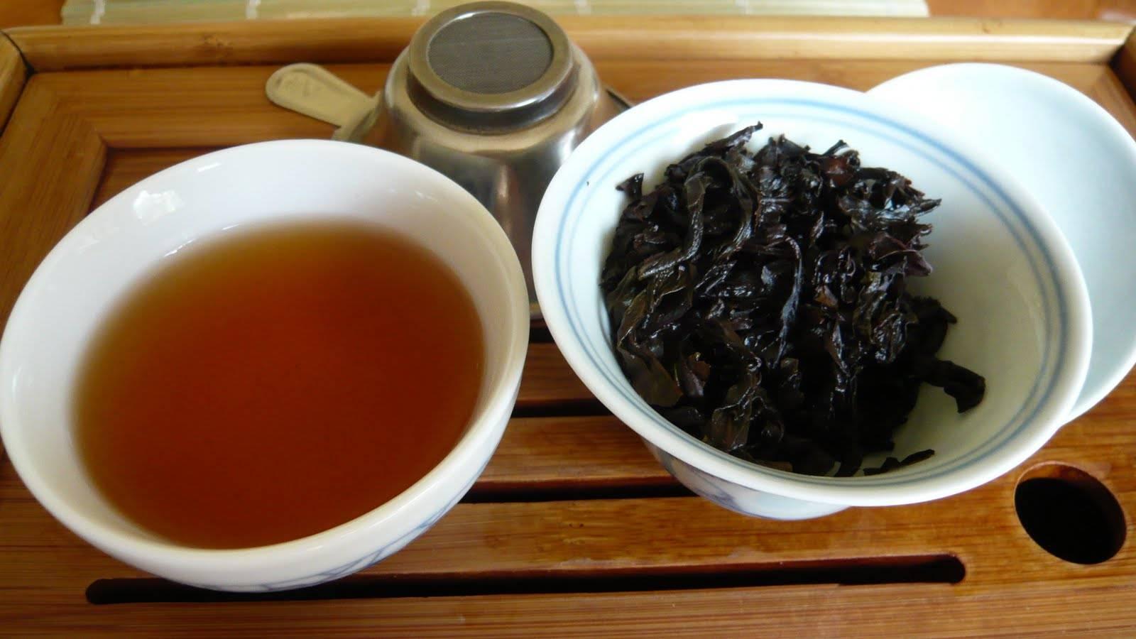 Знаменитый китайский чай да хун пао – большой красный халат