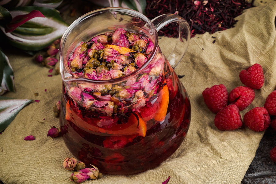 Чай с малиной лечебные свойства