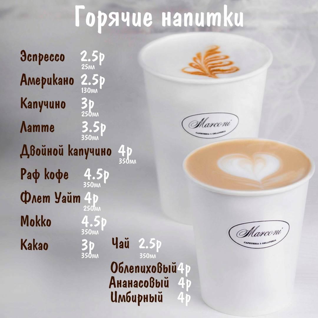 Чем отличается раф кофе от латте. раф кофе: правильный рецепт, фото, видео.