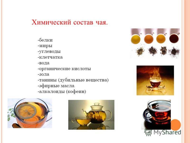 Химический состав кофе в зернах