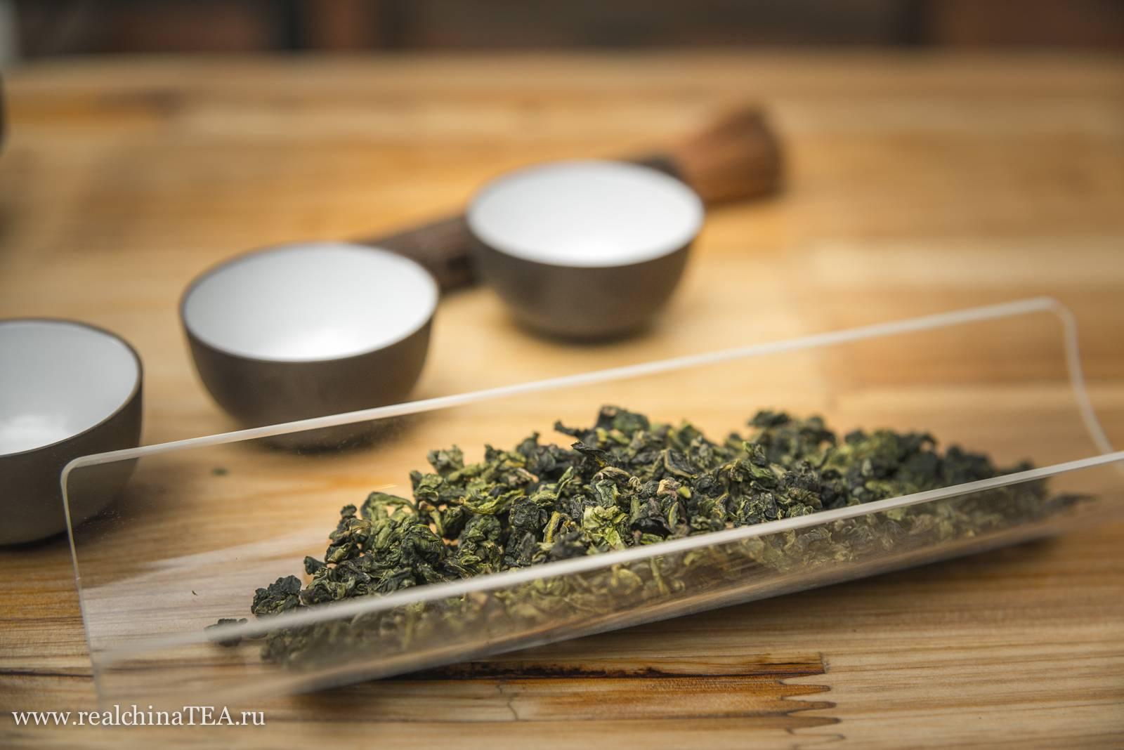Чай тигуанинь: ароматный улун из китая