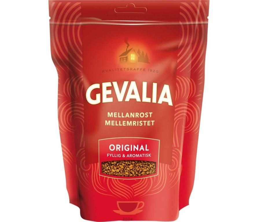 Растворимый кофе gevalia (гевалия) gold 200гр. finlove