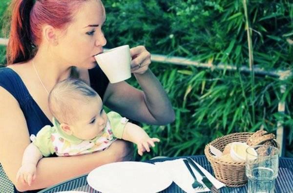 Правила употребления кофе при грудном вскармливании