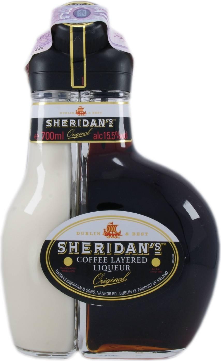 Как правильно пить ликер шеридан