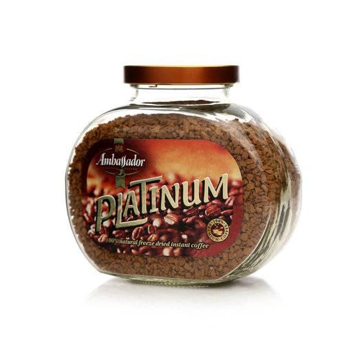 Кофе в зернах ambassador platinum, 1 кг отзывы