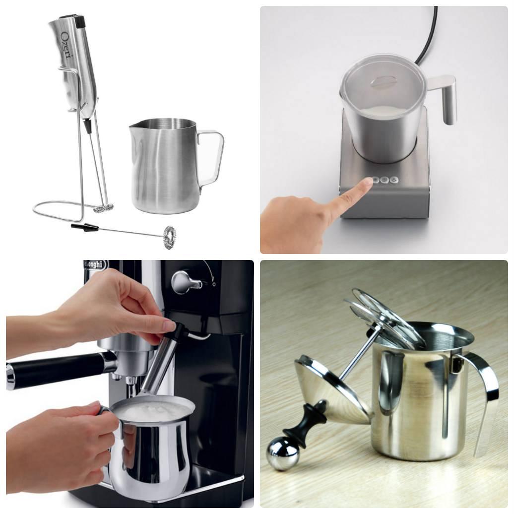 Капучинатор – как выбрать и пользоваться вспенивателем для молока ручным и автоматическим