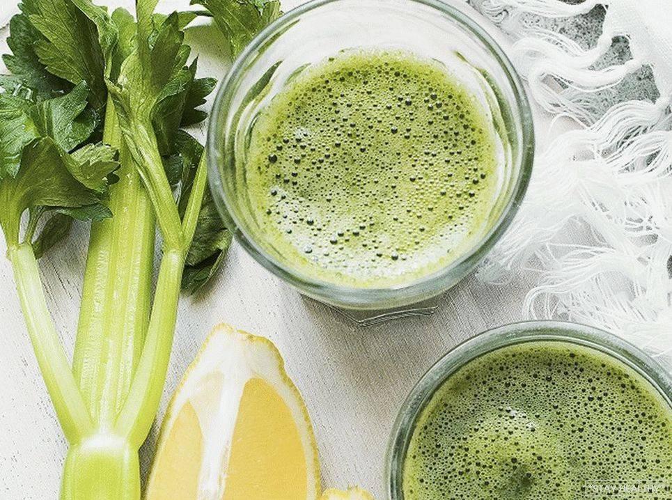Сельдерей для похудения: как употреблять, польза для женщин и мужчин, диета, рецепты (коктейли, сок, с кефиром или лимоном), применение в сыром виде
