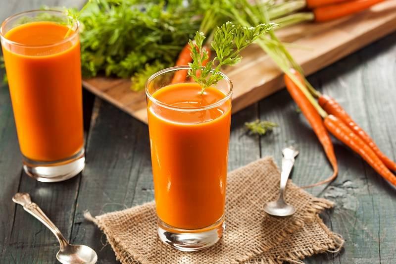 Приготовление и польза морковного чая