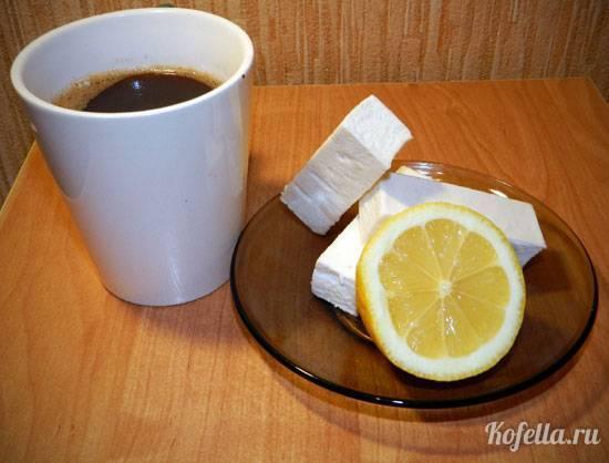Кофе с лимоном: польза и вред, рецепты