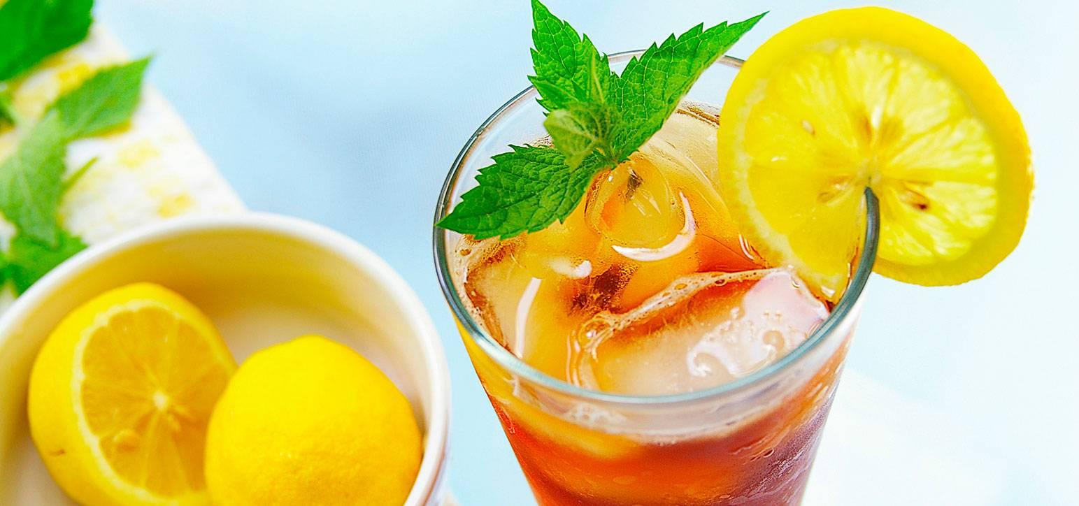 Рецепты холодного чая в домашних условиях