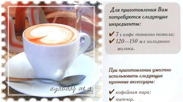 Cделать капучино в домашних условиях без кофемашины вполне реально — три рецепта для гурманов