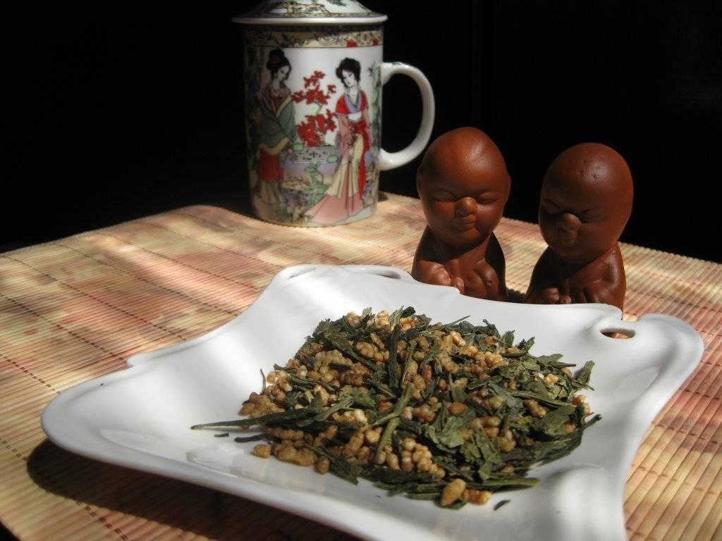 Японский рисовый чай генмайча польза и вред для организма
