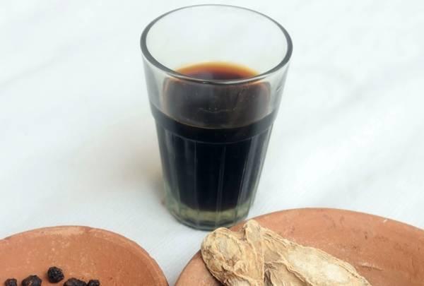 Ароматный кофе с добавлением имбиря