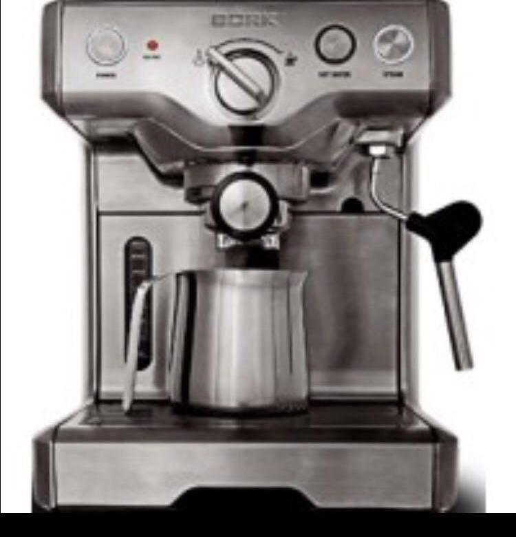 Основные модели и неисправности кофемашин борк (bork)