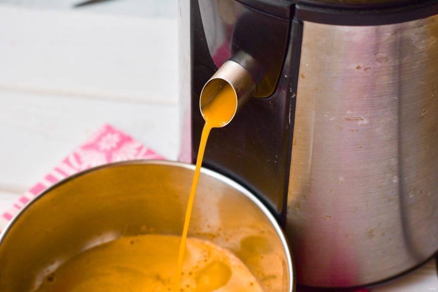 Сок из тыквы в домашних условиях: простой рецепт с фото