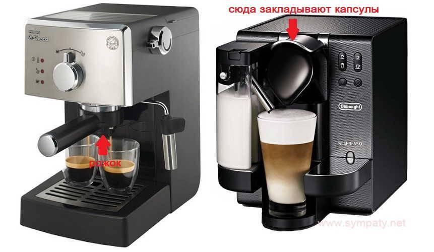 Чем отличается кофемашина от кофеварки гейзерной, капсульного, капельного и рожкового типа: сравнение. что выбрать, что лучше для дома: кофеварка или кофемашина?