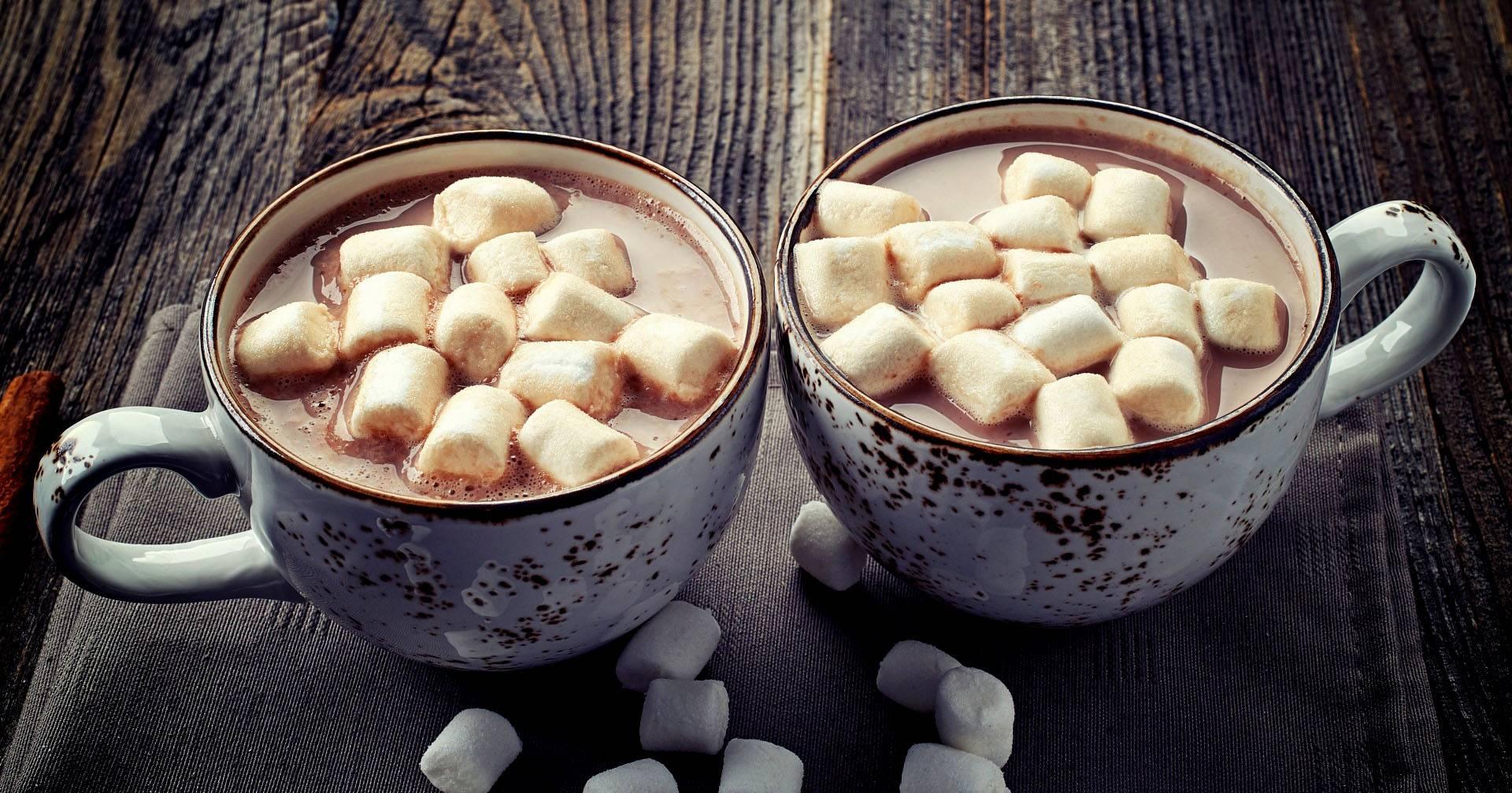 Какао с зефирками - пошаговый рецепт приготовления с фото