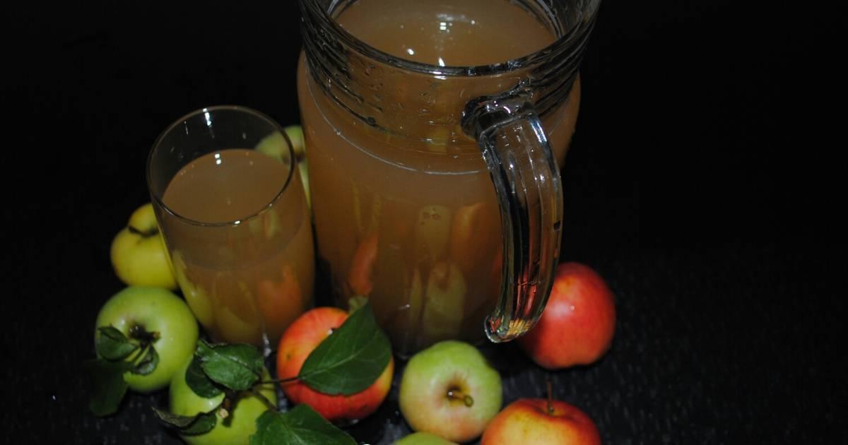 Яблочный квас по старинному рецепту в домашних условиях, фото и видео