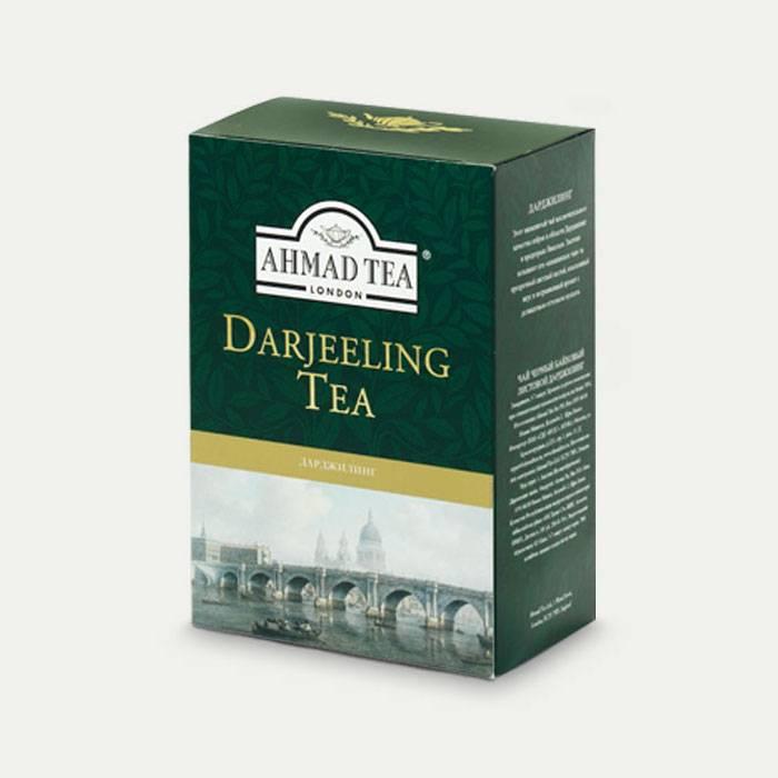 Индийский чай дарджилинг крупнолистовой черный