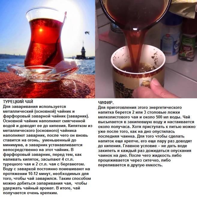 Чифир вред и польза - неталкоголю