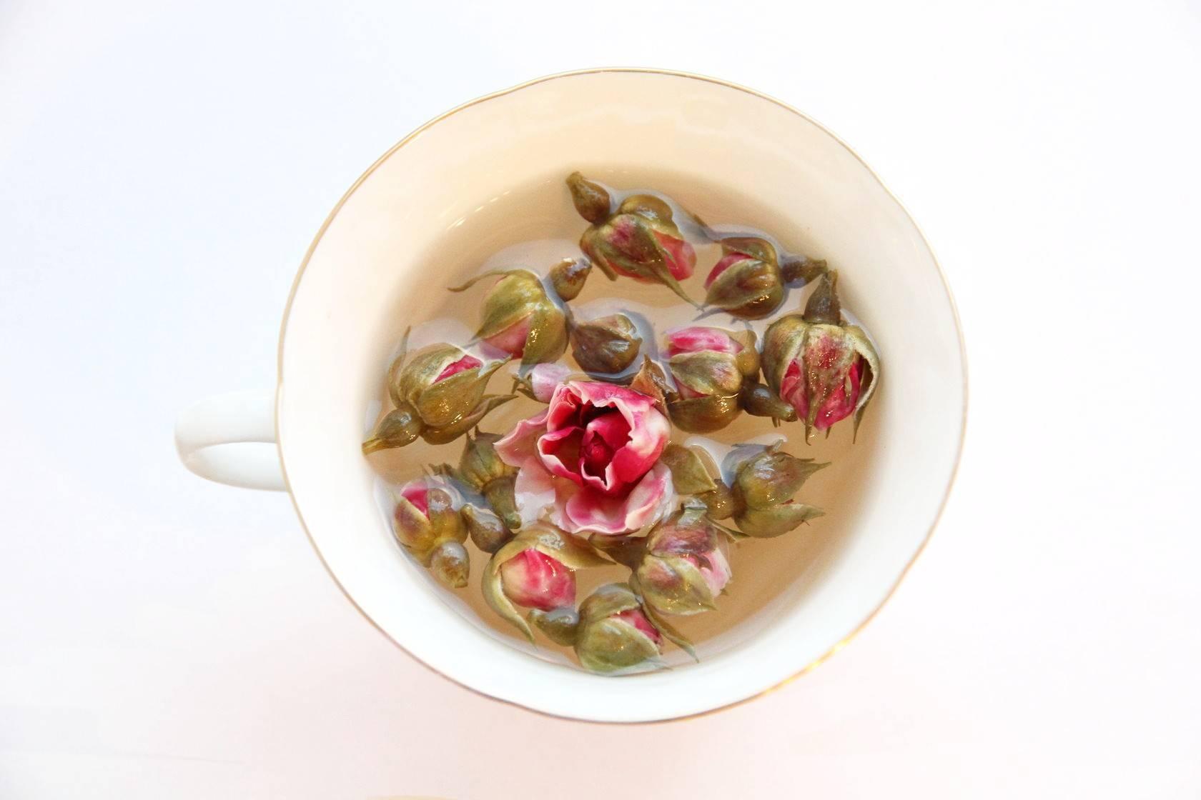 Душистый чай с османтусом: гуй хуа ча
