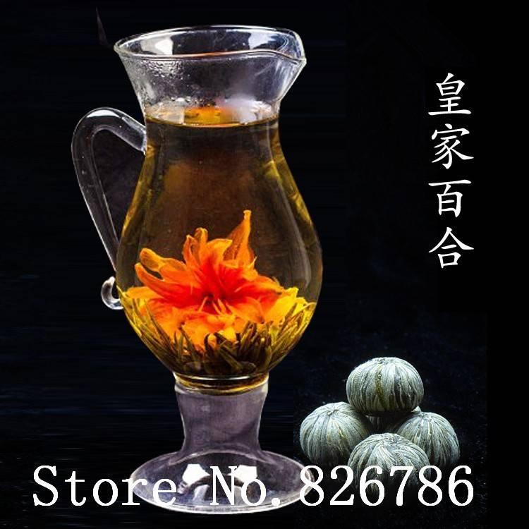 Как называется чай где распускается цветок